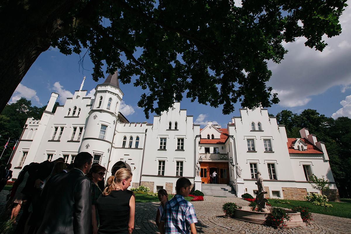 ślub w pałacu sulisław