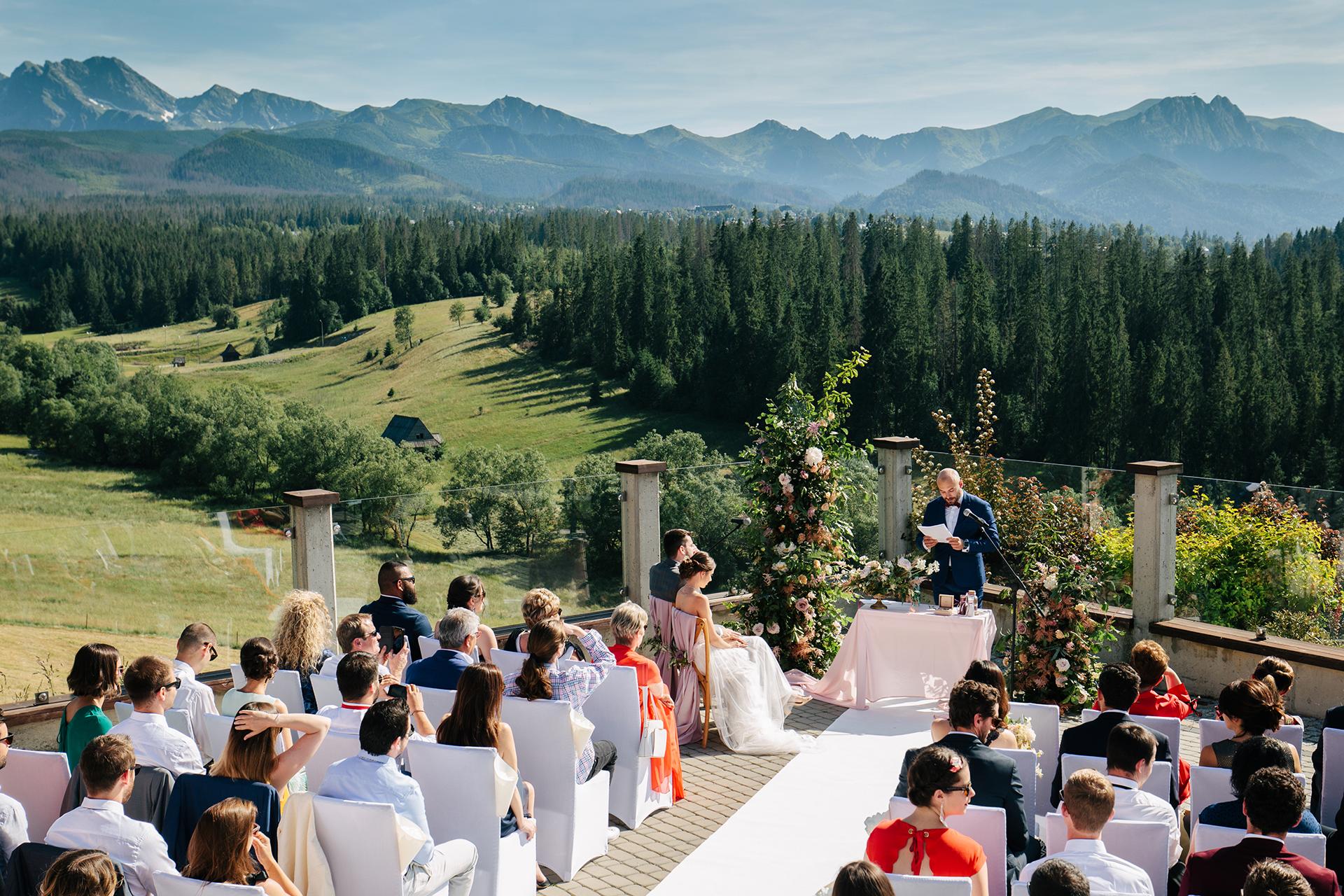 Ślub w Murzasichle