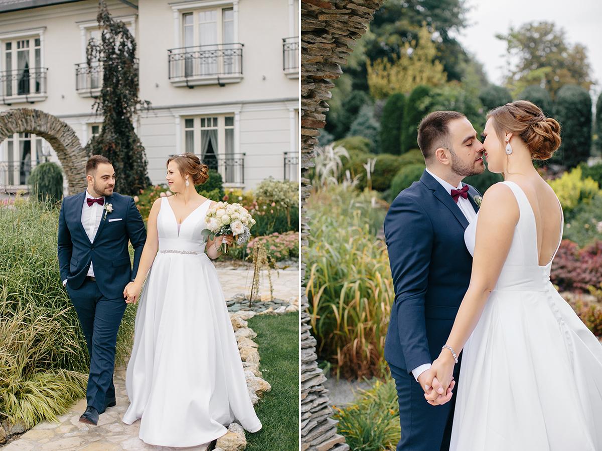 ślub plenerowy w rezydencja luxury hotel