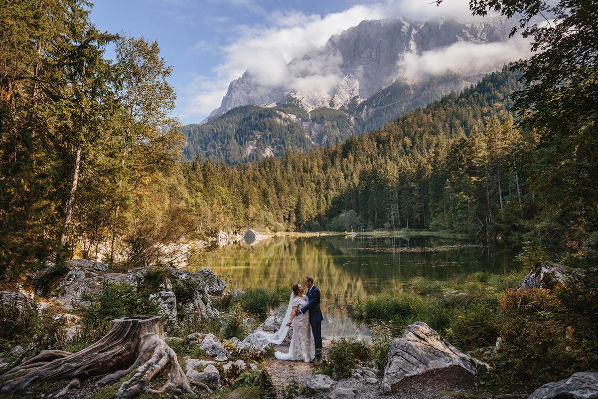 sesja ślubna w Bawarii