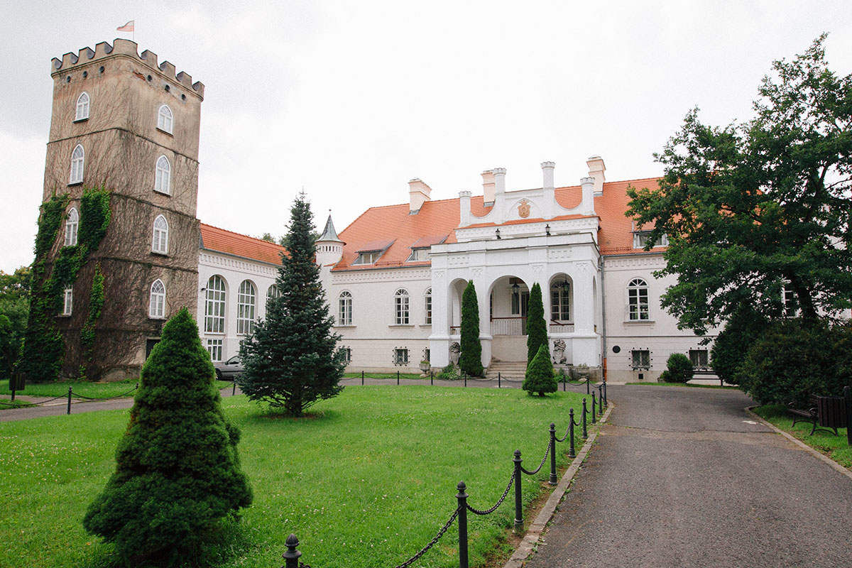 pałac z Zakliczynie